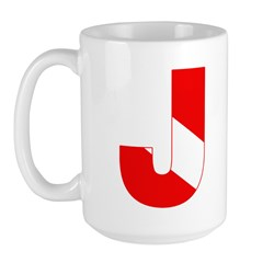 https://i3.cpcache.com/product/189276736/scuba_flag_letter_j_large_mug.jpg?side=Front&color=White&height=240&width=240