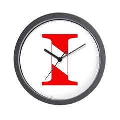 https://i3.cpcache.com/product/189277529/scuba_flag_letter_i_wall_clock.jpg?side=Front&height=240&width=240