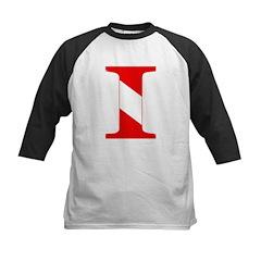 https://i3.cpcache.com/product/189277574/scuba_flag_letter_i_kids_baseball_jersey.jpg?side=Front&color=BlackWhite&height=240&width=240