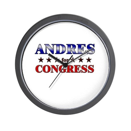 ANDRES for congress Wall Clock