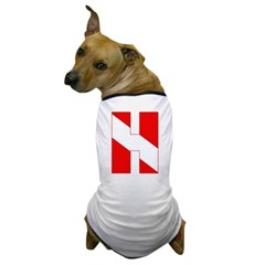 https://i3.cpcache.com/product/189278806/scuba_flag_letter_h_dog_tshirt.jpg?side=Front&color=White&height=240&width=240