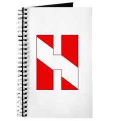 https://i3.cpcache.com/product/189278819/scuba_flag_letter_h_journal.jpg?side=Front&height=240&width=240