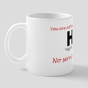 No Services Mug