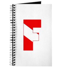 https://i3.cpcache.com/product/189280519/scuba_flag_letter_f_journal.jpg?side=Front&height=240&width=240