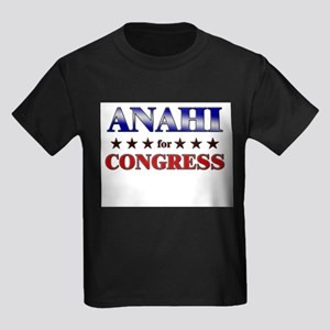 ANAHI for congress Kids Dark T-Shirt