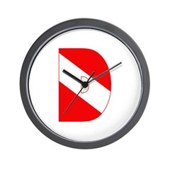https://i3.cpcache.com/product/189282522/scuba_flag_letter_d_wall_clock.jpg?side=Front&height=240&width=240