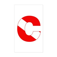 https://i3.cpcache.com/product/189283333/scuba_flag_letter_c_rectangle_decal.jpg?side=Front&color=White&height=240&width=240