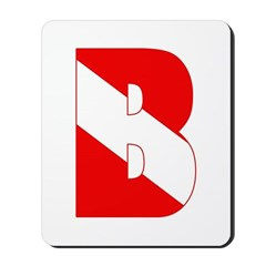 https://i3.cpcache.com/product/189284592/scuba_flag_letter_b_mousepad.jpg?side=Front&height=240&width=240