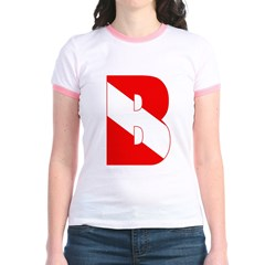 https://i3.cpcache.com/product/189284616/scuba_flag_letter_b_t.jpg?side=Front&color=PinkSalmon&height=240&width=240