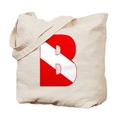 https://i3.cpcache.com/product/189284627/scuba_flag_letter_b_tote_bag.jpg?side=Front&color=Khaki&height=240&width=240