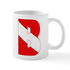 https://i3.cpcache.com/product/189284671/scuba_flag_letter_b_mug.jpg?side=Back&color=White&height=240&width=240