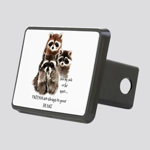 Friends in your Heart Quot Rectangular Hitch Cover