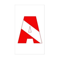 https://i3.cpcache.com/product/189285236/scuba_flag_letter_a_rectangle_decal.jpg?side=Front&color=White&height=240&width=240