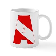 https://i3.cpcache.com/product/189285309/scuba_flag_letter_a_mug.jpg?side=Back&color=White&height=240&width=240