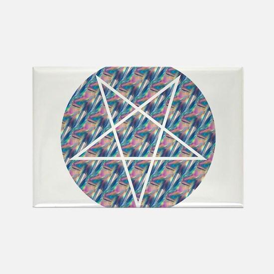 hologram pentagram Magnets