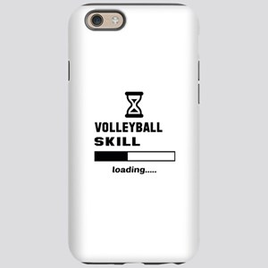 Volleyball Skill Loading... iPhone 6/6s Tough Case