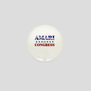 AMARI for congress Mini Button