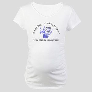 Bright & Beautiful Logo, Maternity T-Shirt