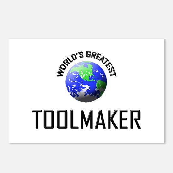 World's Greatest TOOLMAKER Postcards (Package of 8