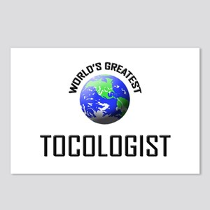 World's Greatest TOCOLOGIST Postcards (Package of