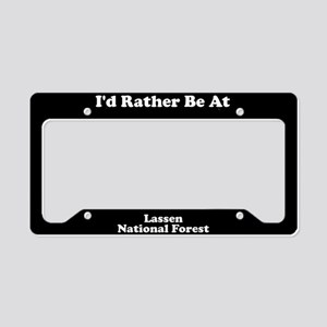 Lassen National Forest - LPF License Plate Holder