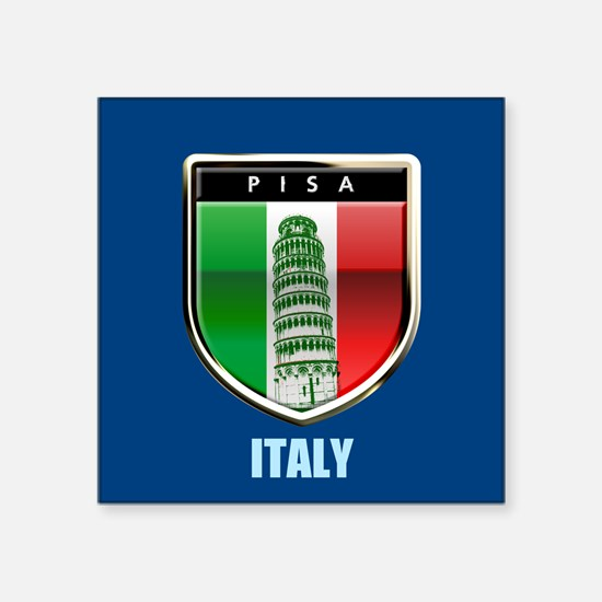 Customized Tower of Pisa, Italy Sticker