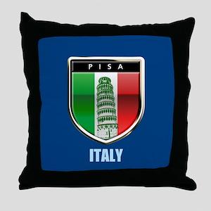 Customized Tower of Pisa, Italy Throw Pillow