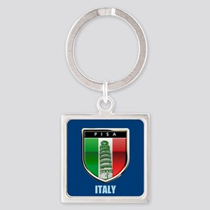 Customized Tower of Pisa, Italy Keychains