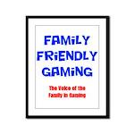 FFG Logo 2018 LARGE Framed Panel Print