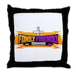 FFG Logo 2018 LARGE Throw Pillow