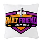 FFG Logo 2018 LARGE Woven Throw Pillow