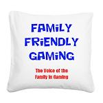 FFG Logo 2018 LARGE Square Canvas Pillow