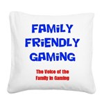 FFG Logo 2018 LARGE Square Canvas Pillow