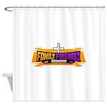 FFG Logo 2018 LARGE Shower Curtain