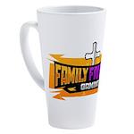 FFG Logo 2018 LARGE 17 oz Latte Mug