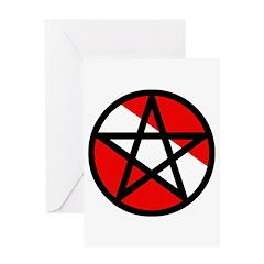 https://i3.cpcache.com/product/189299028/scuba_flag_pentagram_greeting_card.jpg?height=240&width=240