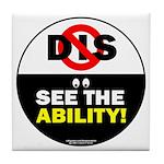 See the Ability! Tile Coaster