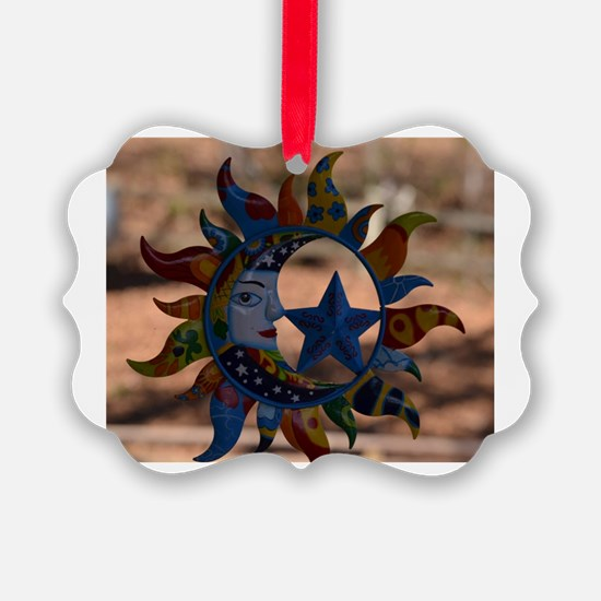 Cute Moon and stars Ornament