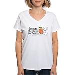GSDRGA Women's V-Neck T-Shirt