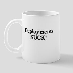 Deployments Suck Mug