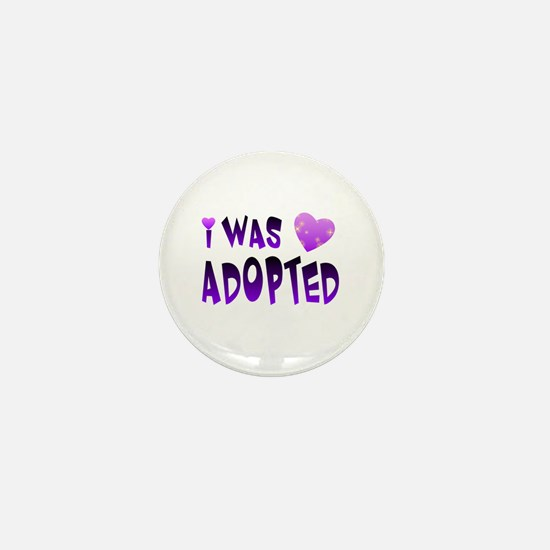Cute Adoption Mini Button