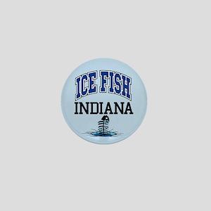 Ice Fish Indiana Mini Button