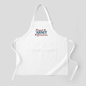 Army Grandma (collage) BBQ Apron