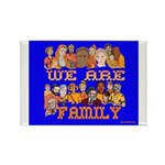 We Are Family Rectangle Magnet (10 pack)