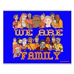 We Are Family Small Poster