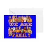 We Are Family Greeting Card