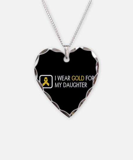 Childhood Cancer: Gold For My Necklace