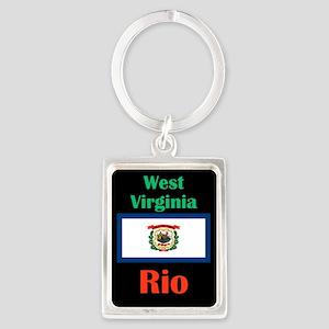 Rio West Virginia Keychains