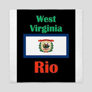 Rio West Virginia Queen Duvet