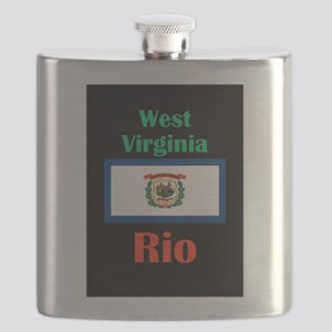 Rio West Virginia Flask